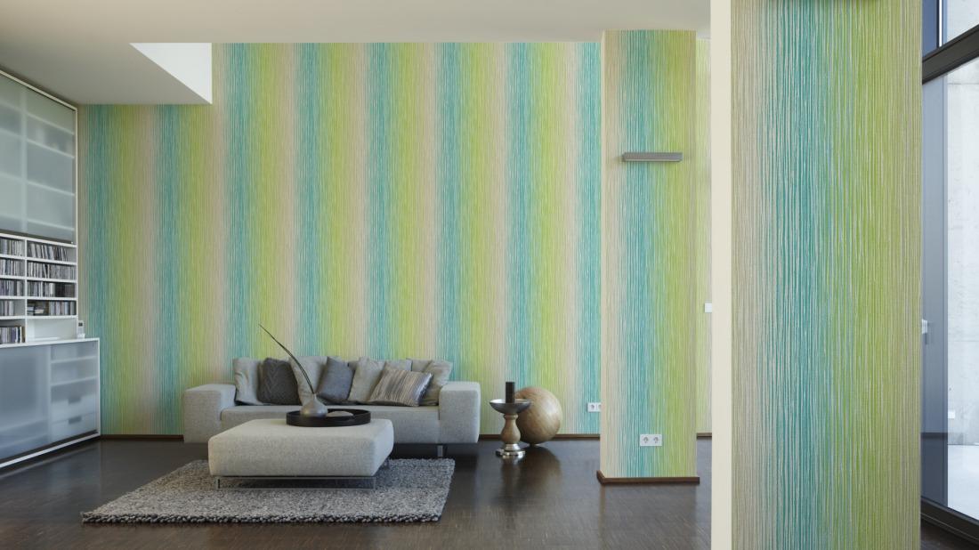 tapete esprit vliestapete 94147 2 941472 streifen gr n t rkis ebay. Black Bedroom Furniture Sets. Home Design Ideas