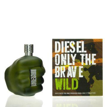 diesel only the brave wild eau de toilette 200 ml edt neu. Black Bedroom Furniture Sets. Home Design Ideas