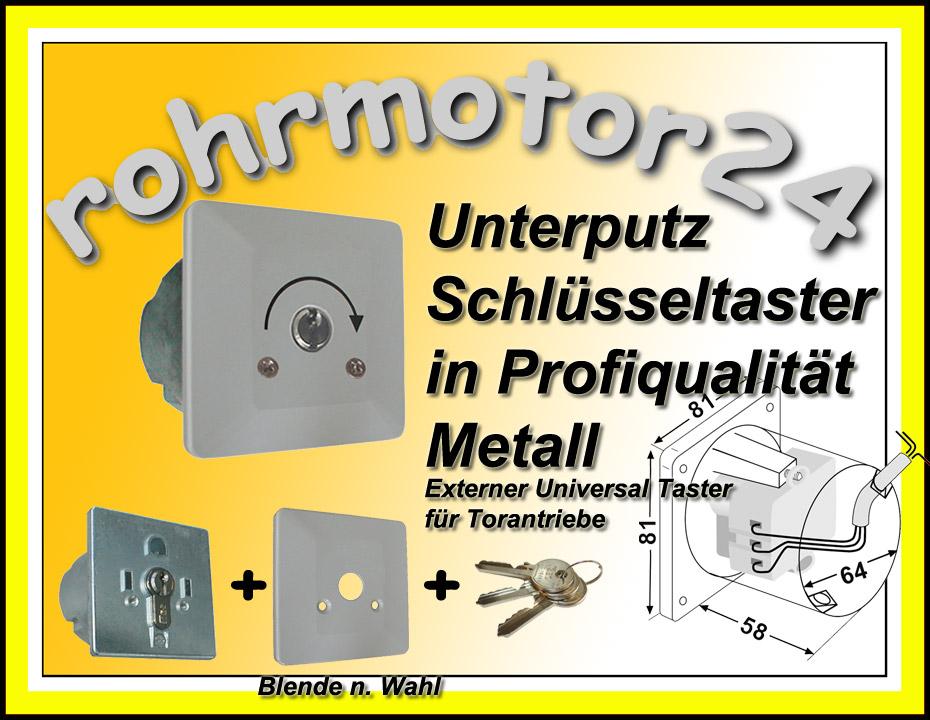inprojal metall schl sselschalter schl sseltaster motor. Black Bedroom Furniture Sets. Home Design Ideas