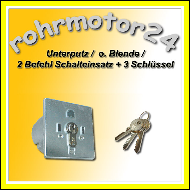 schl sseltaster schl sselschalter motor garagentor tore ebay. Black Bedroom Furniture Sets. Home Design Ideas