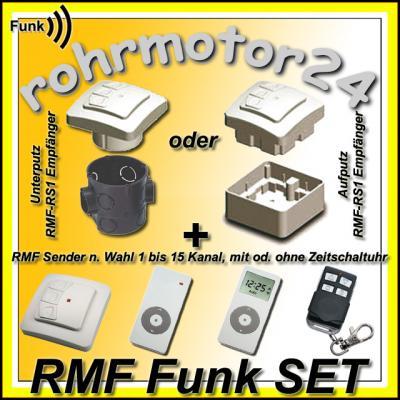 rolladenmotor rohrmotor funkmotor rolladen rollo funk ebay. Black Bedroom Furniture Sets. Home Design Ideas