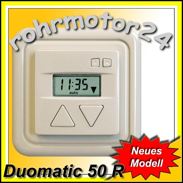 Rolladentimer-Rolladenschaltuhr-Jalousietimer-Rolladenzeitschaltuhr-Duomatic-50