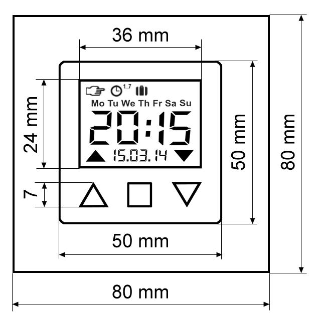 rolladen jalousie zeitschaltuhr f r gira system standard 55 e2 e22 event fl che ebay. Black Bedroom Furniture Sets. Home Design Ideas