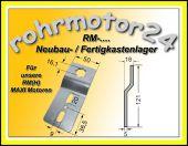 Neubau- / Fertigkastenlager für RM + RMH MAXI Motoren