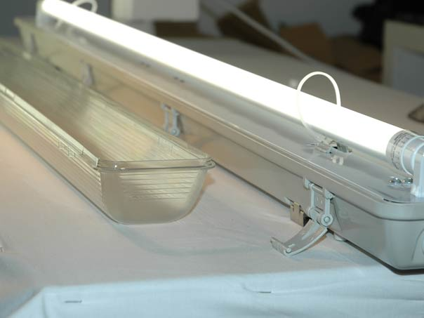 120cm led wannenleuchte led feuchtraumwannenleuchte 230v. Black Bedroom Furniture Sets. Home Design Ideas