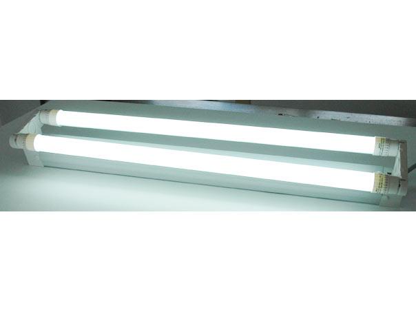 led t8 halterung 2x60cm 2 flammig wei 2x t8 60cm led. Black Bedroom Furniture Sets. Home Design Ideas