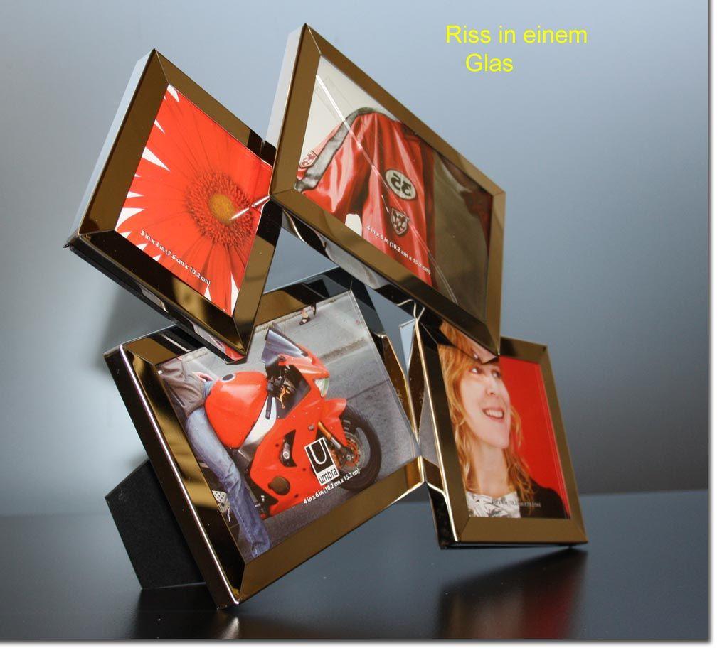 Bilderrahmen Multi Frame Fotorahmen Bilder Rahmen Glas defekt | eBay