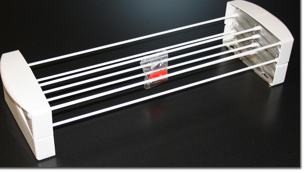 leifheit teleclip 60 scherentrockner wandtrockner w schetrockner besch digt ebay. Black Bedroom Furniture Sets. Home Design Ideas