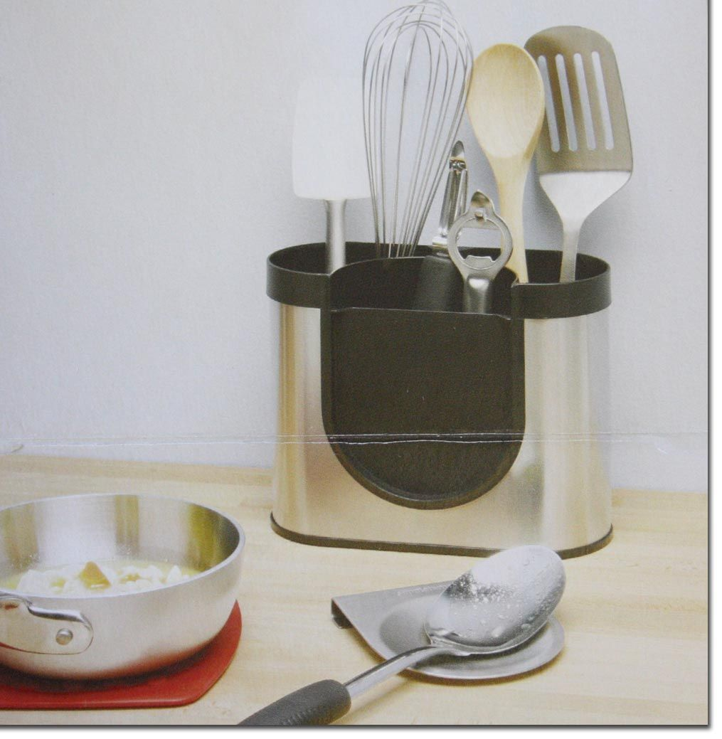 simplehuman utensilienhalter kratzer kochutensilien halter. Black Bedroom Furniture Sets. Home Design Ideas