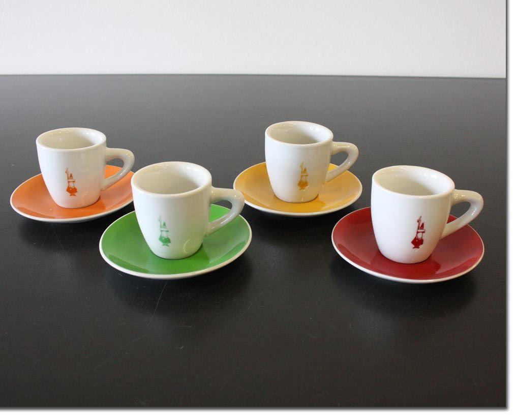 bialetti espresso tassen set 10tlg kratzer 6 tassen 4 untertassen espresso tasse ebay. Black Bedroom Furniture Sets. Home Design Ideas