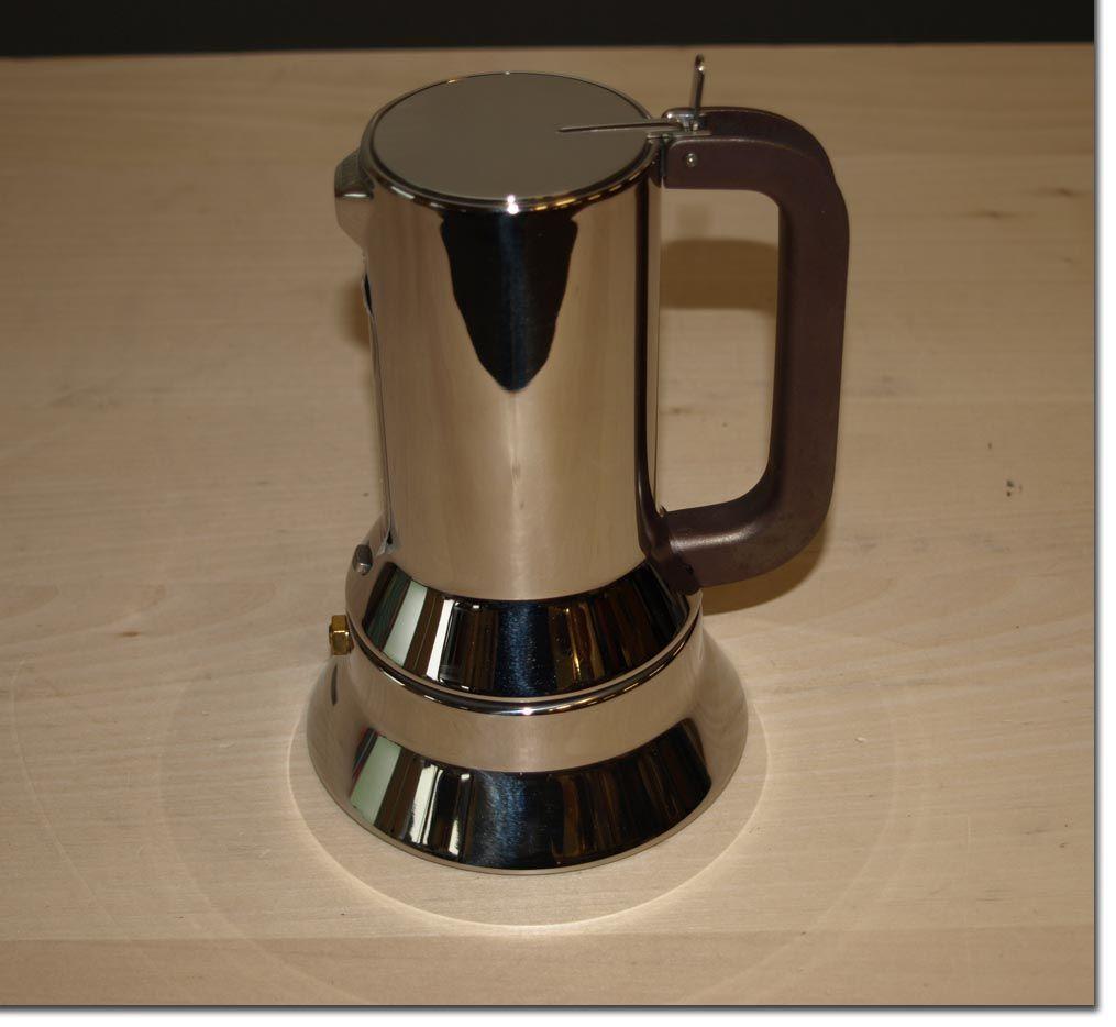 alessi espressomaschine gebraucht 3 tassen edelstahl espressokocher espresso ebay. Black Bedroom Furniture Sets. Home Design Ideas