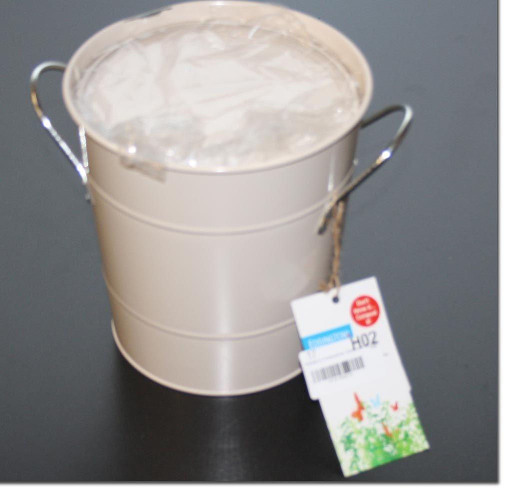 eddingtons komposteimer cremefarben - kratzer   ebay