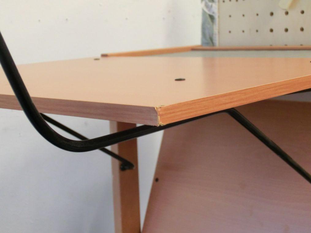 foppapedretti asso b gelstation mit rollen macken walnuss b gelbrett b geln ebay. Black Bedroom Furniture Sets. Home Design Ideas