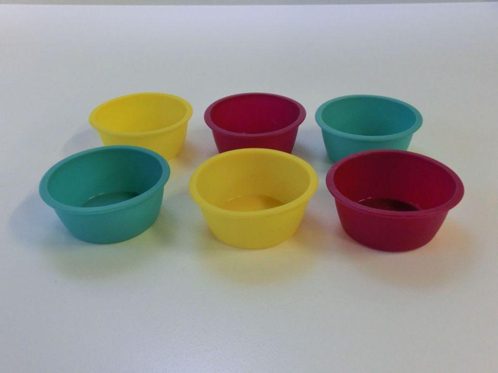 Metaltex Mini Kuchenform 6er Set Muffinformchen Cup Cake Backform