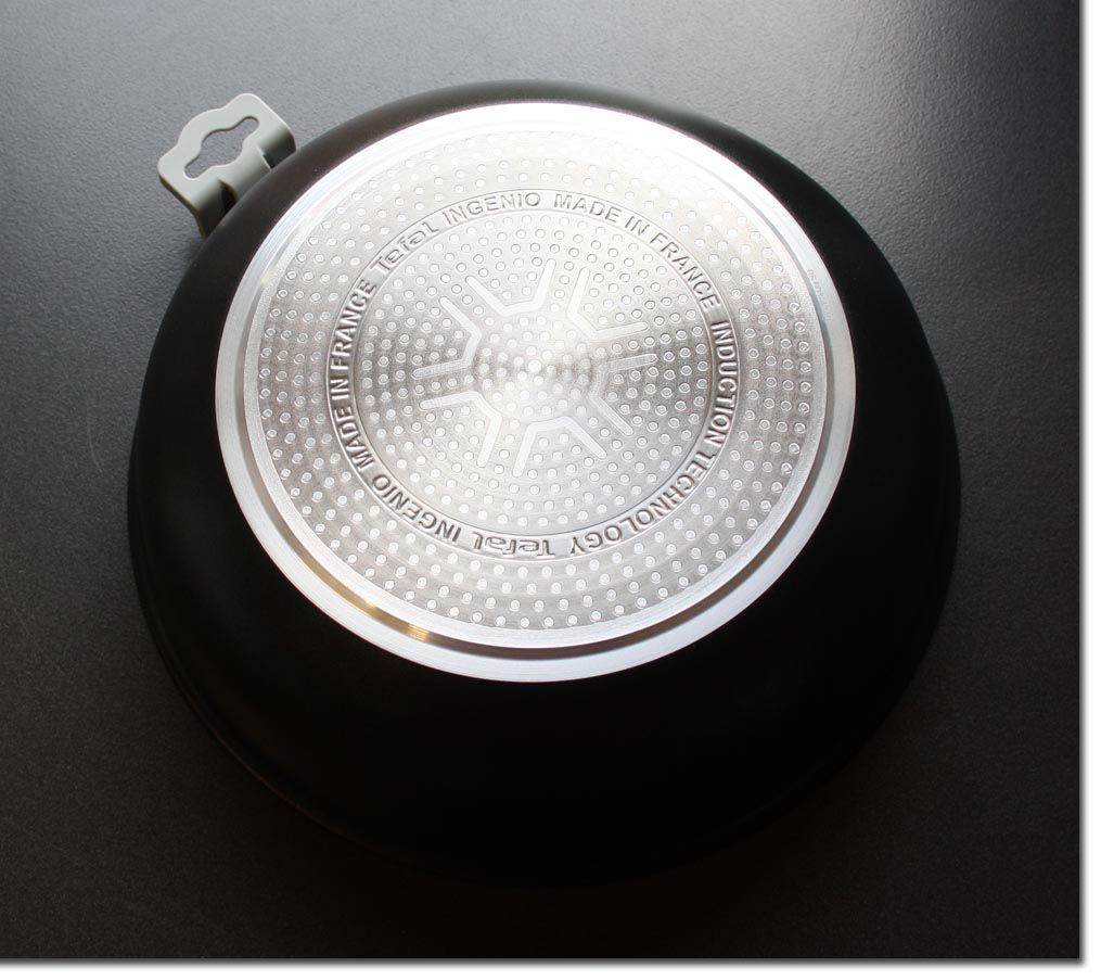 tefal ingenio wok 26 cm ptfe induktion pfanne verbeult ebay. Black Bedroom Furniture Sets. Home Design Ideas