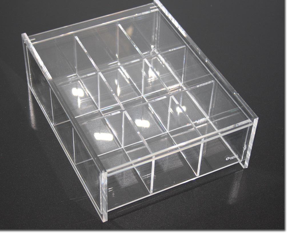 teebeutel box acryl aufbewahrungsbox aufbewahrung beh lter tee besch digt ebay. Black Bedroom Furniture Sets. Home Design Ideas