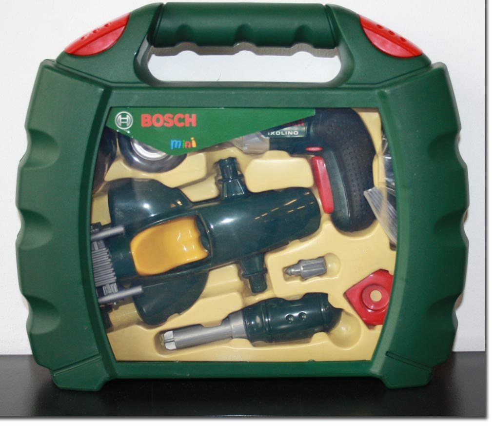 bosch werkzeugkoffer akkuschrauber kinderwerkzeug auto. Black Bedroom Furniture Sets. Home Design Ideas