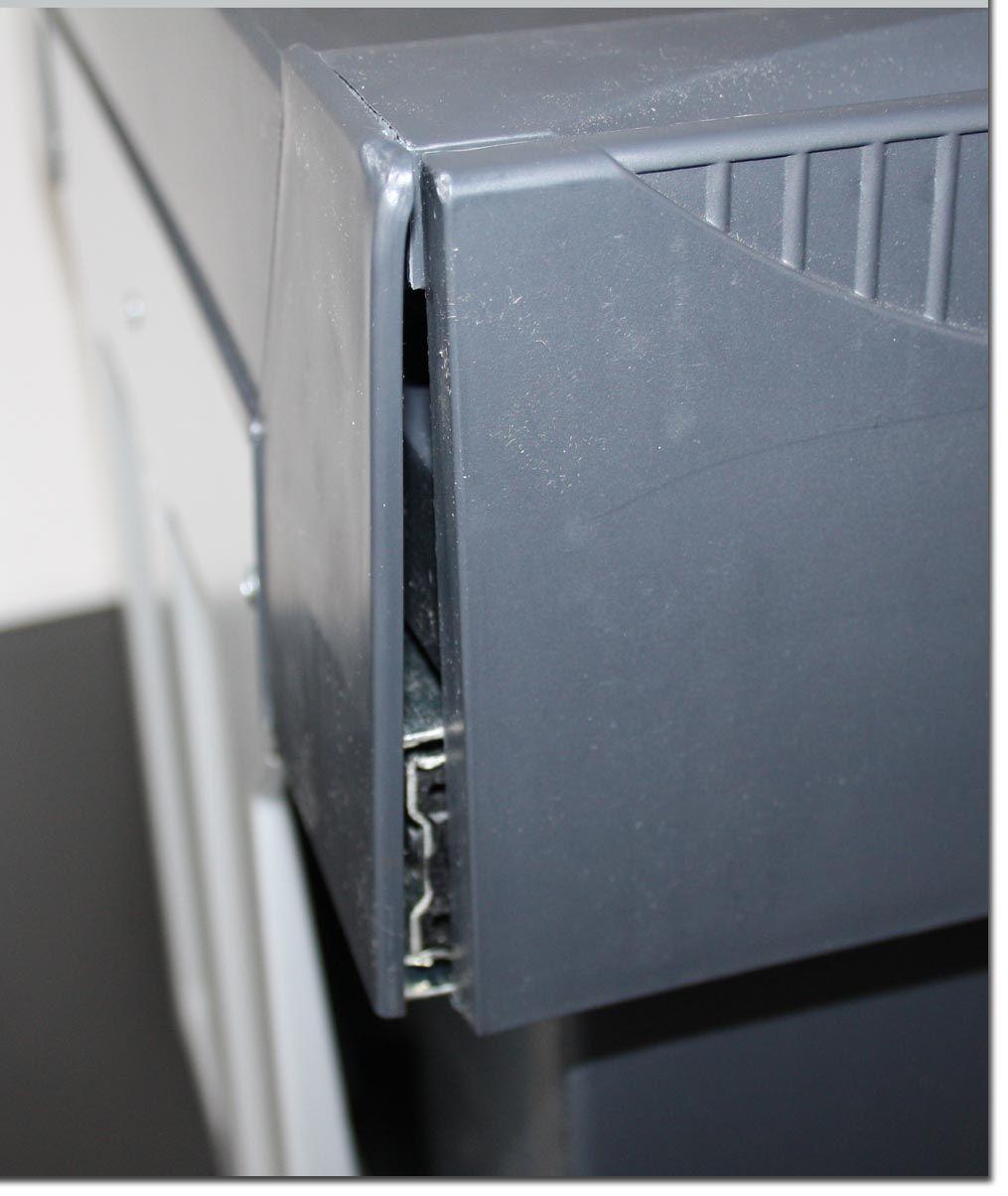 hailo einbau abfalleimer bio m lleimer doppelkammer abfallsammler besch digt ebay. Black Bedroom Furniture Sets. Home Design Ideas