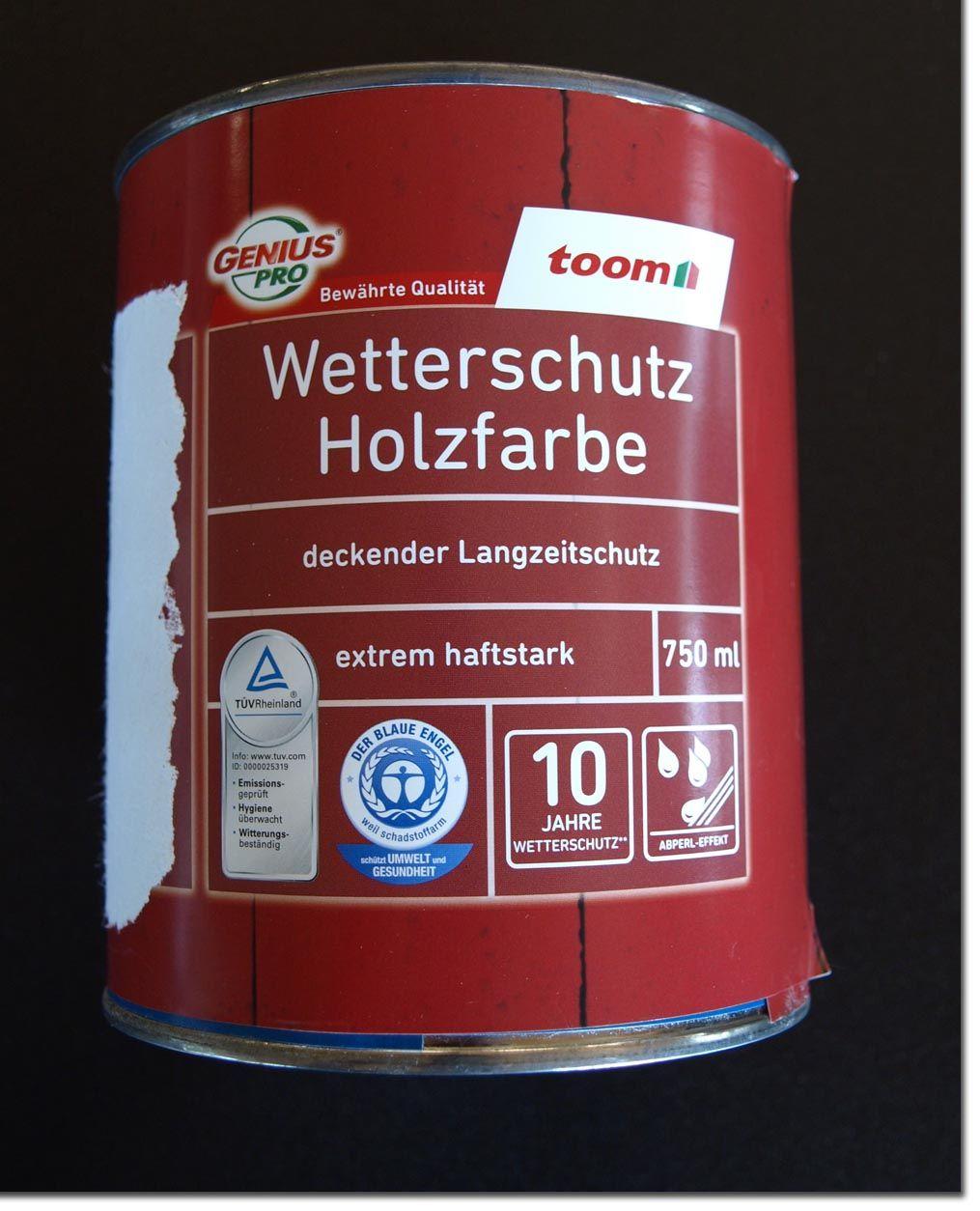 genius pro wetterschutz holzfarbe hell elfenbein 750 ml 9 27 euro l ebay. Black Bedroom Furniture Sets. Home Design Ideas