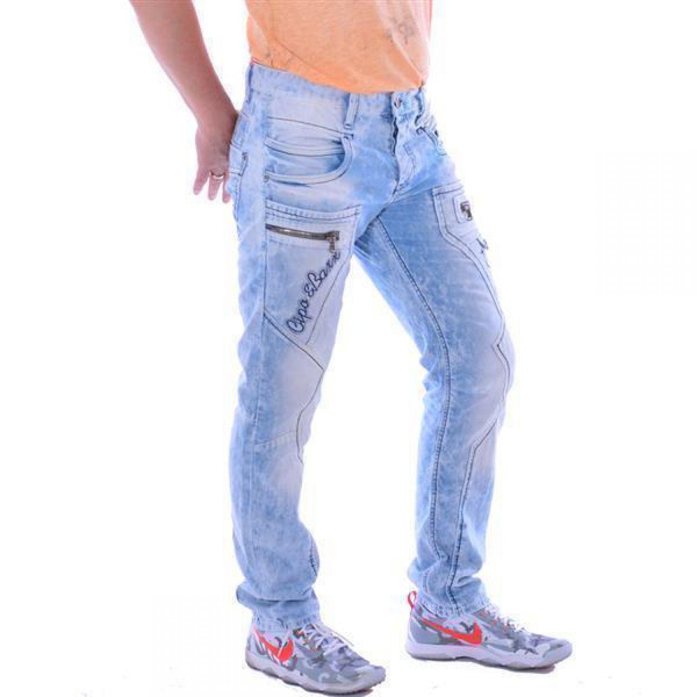 006cc0dc26aa Cipo   Baxx CD 272 Herren Männer Denim Jeans Hose Jeanshose hellblau blau  blue