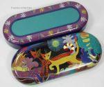 Brillenetui *  Rosina WACHTEMEISTER Katze Katzen Etui für Brille * Wonderland *