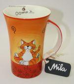 Kaffee Pot / Becher Katze Mila - Oommh