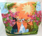 Shopper bag Bag beach bag 50 cm Rosnia MONITORED MASTER cats CAT