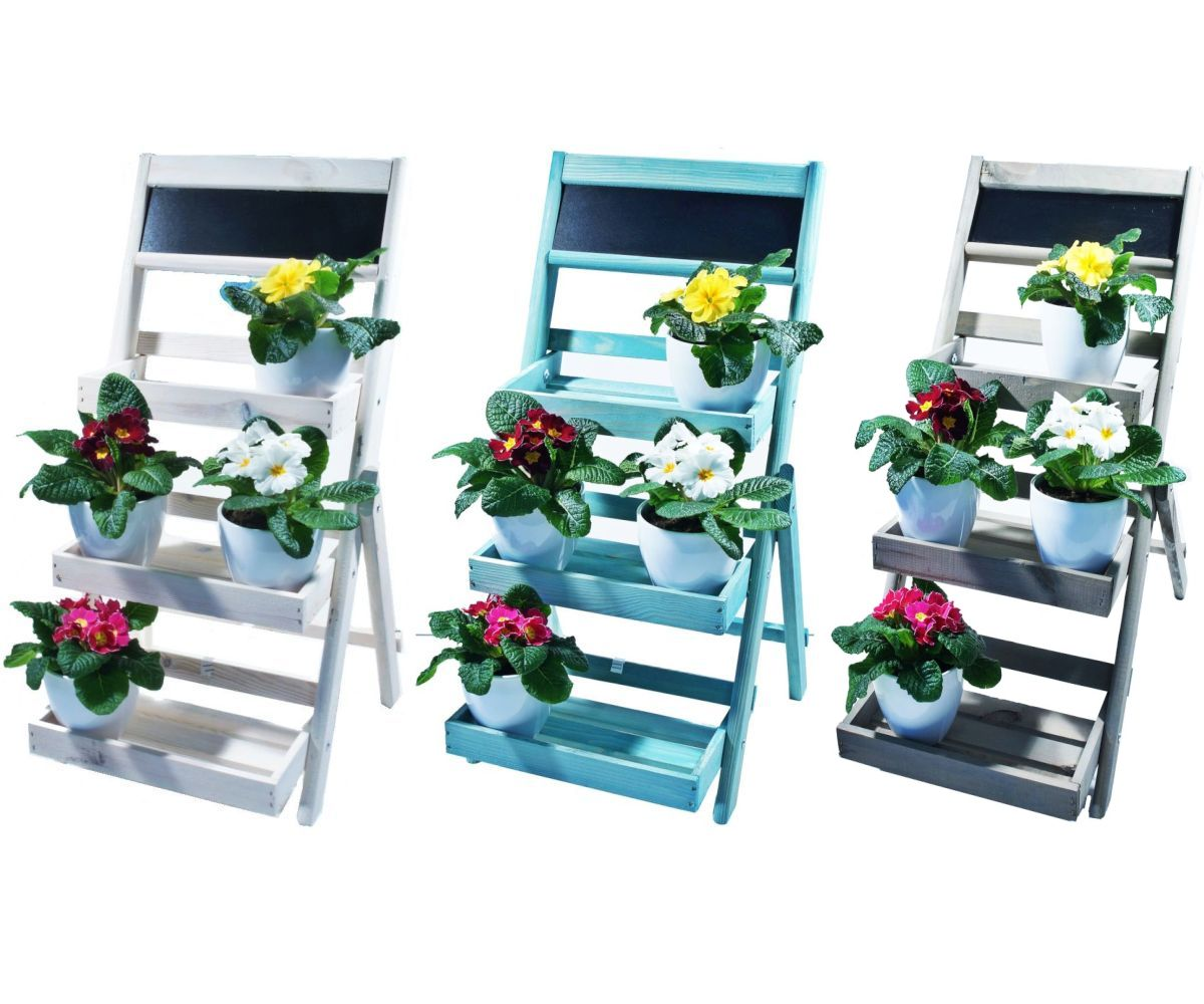 jardini res jardin tag re fleur plateau fleurs plantes d 39 escalier pi destal ebay. Black Bedroom Furniture Sets. Home Design Ideas