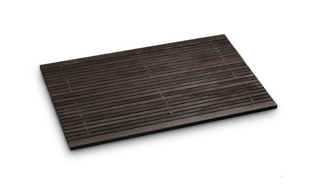 rhomtuft badvorleger spa badematte badteppich aus holz wendbar ebay. Black Bedroom Furniture Sets. Home Design Ideas