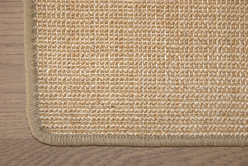 sisal teppich 100 sisal naturfaser sisalteppich gekettelt ebay. Black Bedroom Furniture Sets. Home Design Ideas