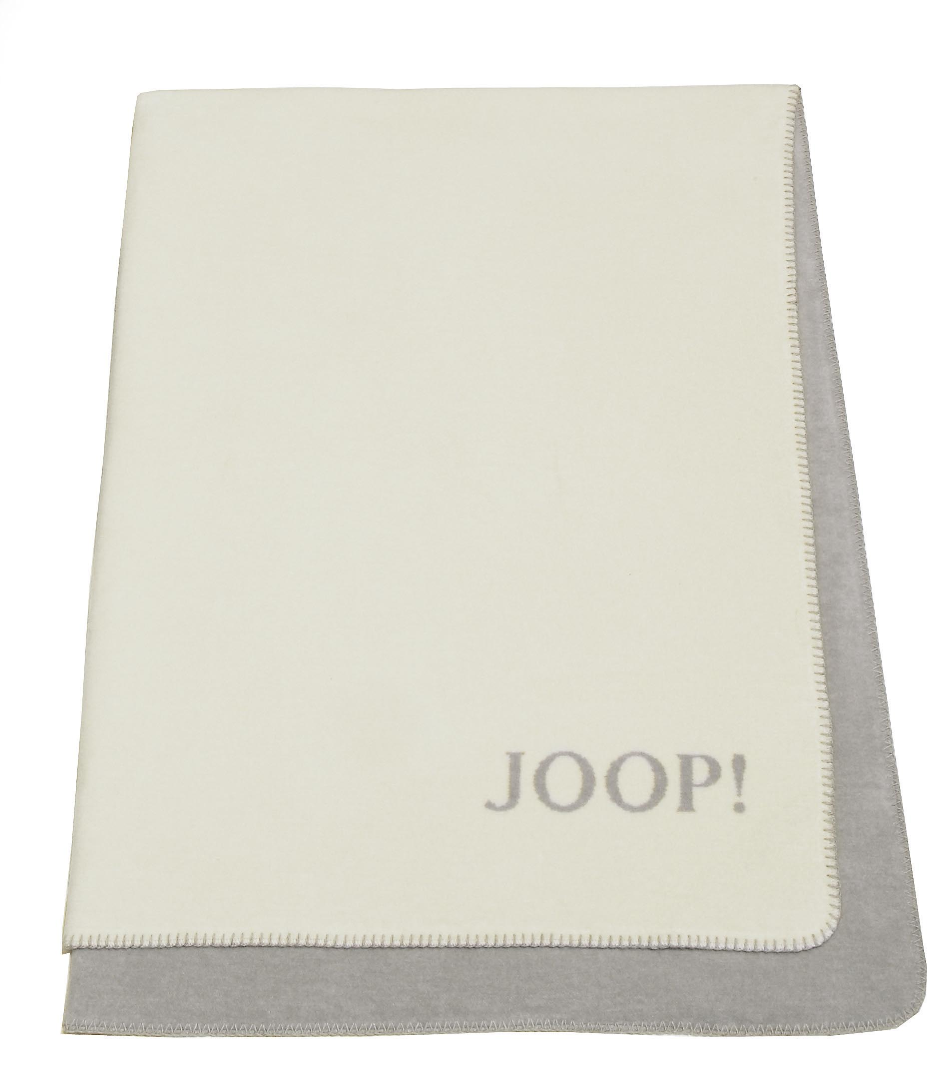 585615 joop trend decke wolldecke kuscheldecke ebay. Black Bedroom Furniture Sets. Home Design Ideas