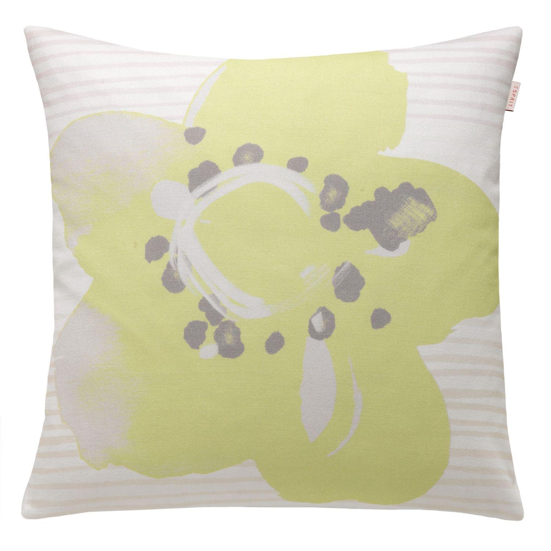 esprit kissenh lle 50x50 cm gelbe blume ebay. Black Bedroom Furniture Sets. Home Design Ideas