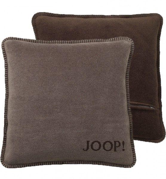 joop uni doubleface kissenh lle 651297 taupe kakao 50x50 cm ebay. Black Bedroom Furniture Sets. Home Design Ideas