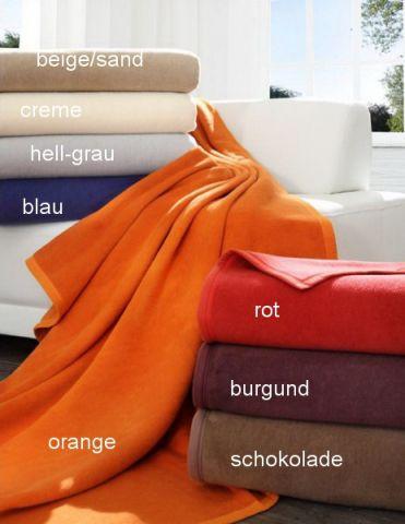decke tagesdecke baumwolle dralon kuscheldecke preishit ebay. Black Bedroom Furniture Sets. Home Design Ideas