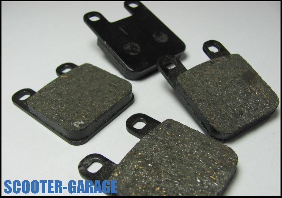 Bremsbel ge set eco quality peugeot speedfight 2 lc vorne for Garage scooter peugeot