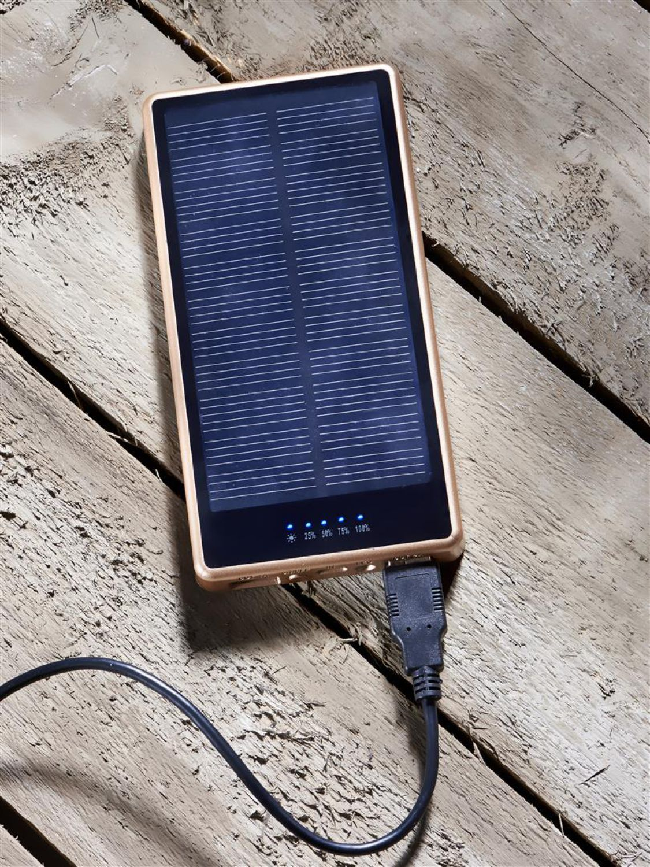 solar ladeger t 7000mah solar akku powerbank mit led taschenlampe ebay. Black Bedroom Furniture Sets. Home Design Ideas