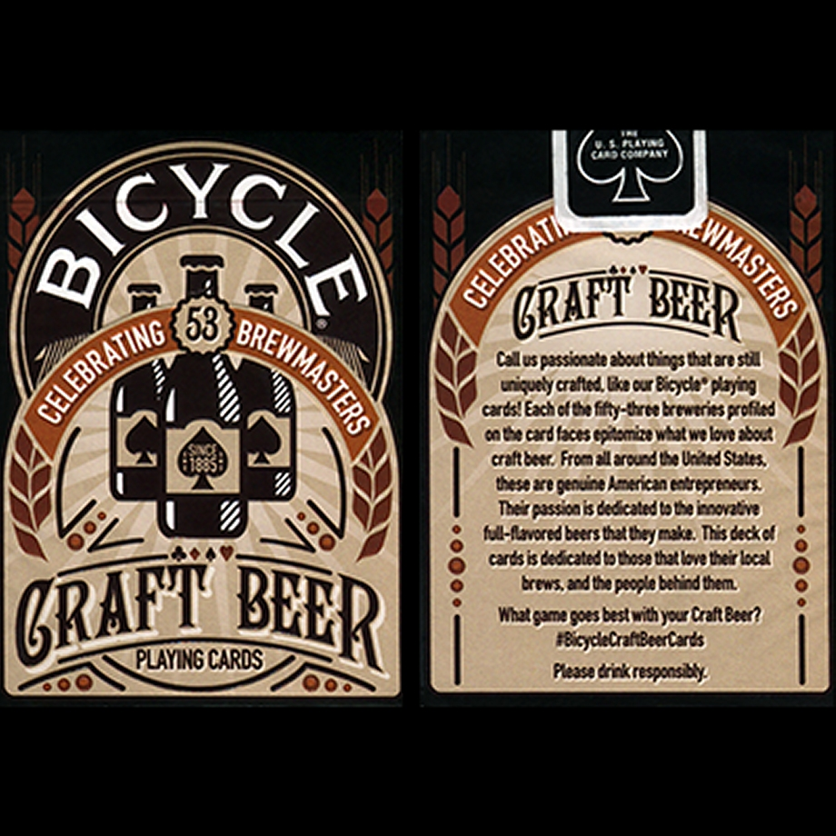 Bicycle Craft Beer Cards