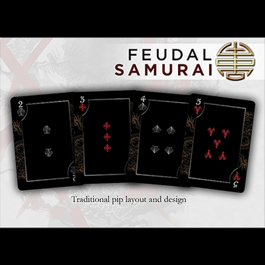 Bicycle Feudal Samurai Limited Edition Deck By Crooked
