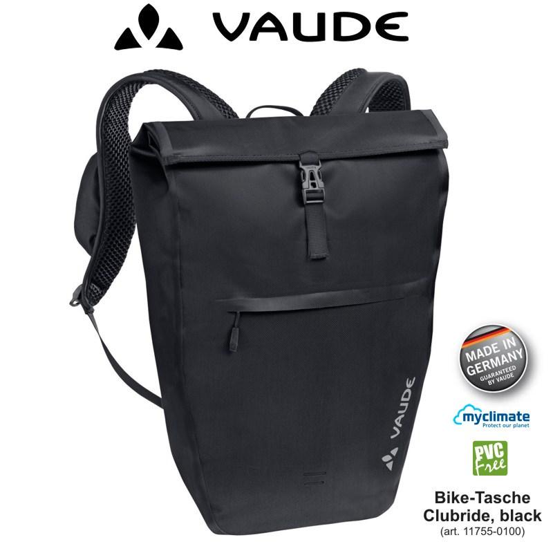 vaude clubride fahrradtasche fahrrad rucksack kuriertasche. Black Bedroom Furniture Sets. Home Design Ideas