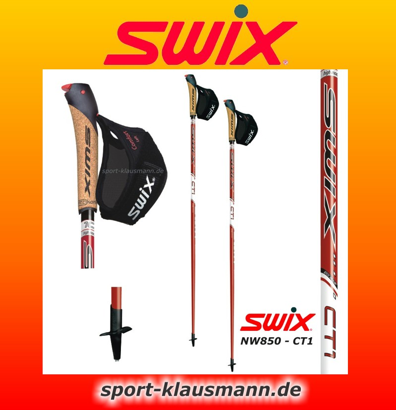 swix nw850 ct1 sport nordic walking st cke aus 100 carbon. Black Bedroom Furniture Sets. Home Design Ideas