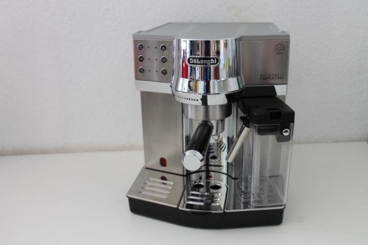 delonghi ec 850 m espressomaschine siebtr ger ifd milchschaumsystem 15 bar ebay. Black Bedroom Furniture Sets. Home Design Ideas