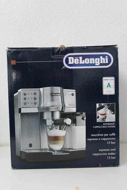 delonghi ec 860 m espresso siebtr germaschine ebay. Black Bedroom Furniture Sets. Home Design Ideas