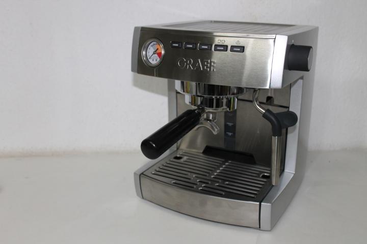 graef es 85 cm 80 siebtr ger espressoautomat set mit. Black Bedroom Furniture Sets. Home Design Ideas