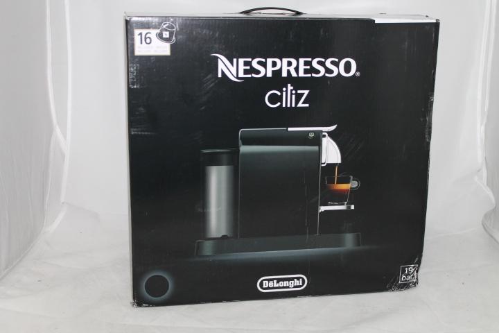 delonghi en 166 b nespresso citiz kapselmaschine ohne kapseln. Black Bedroom Furniture Sets. Home Design Ideas
