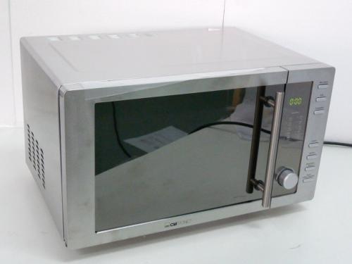 clatronic mwg 775 h mikrowelle mit grill und hei luft 23 liter edelstahlgeh ebay. Black Bedroom Furniture Sets. Home Design Ideas