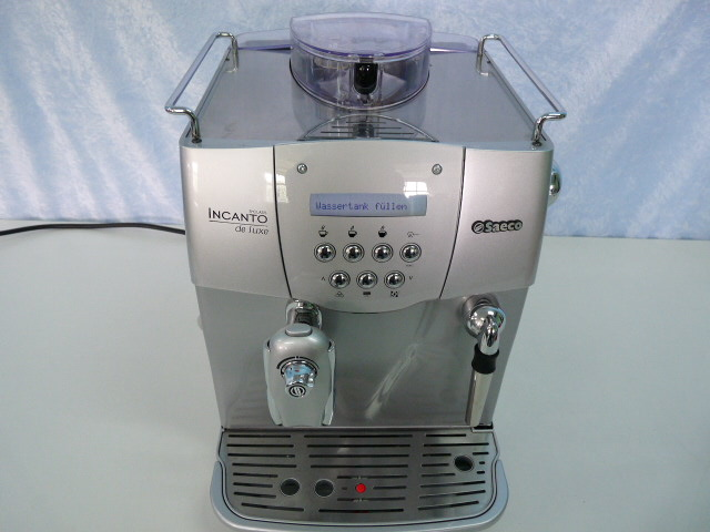 saeco ri9724 01 kaffeevollautomat incanto de luxe silber. Black Bedroom Furniture Sets. Home Design Ideas