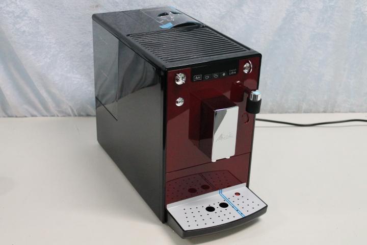 melitta e 955 102 kaffeevollautomat caffeo lattea rot. Black Bedroom Furniture Sets. Home Design Ideas