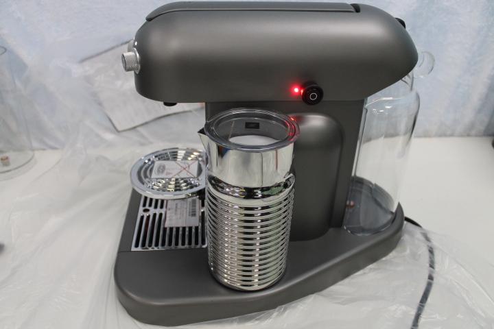 krups xn8105 nespresso gran maestria titanium ebay. Black Bedroom Furniture Sets. Home Design Ideas