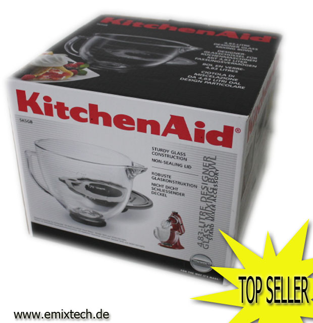 kitchenaid glassch ssel 4 83 liter 5kgb ebay. Black Bedroom Furniture Sets. Home Design Ideas