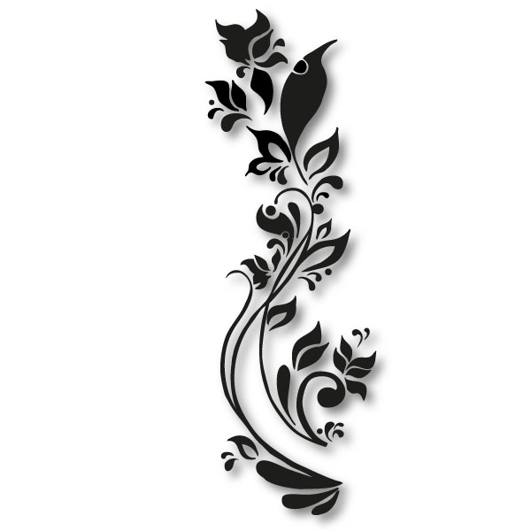 ornament wandtattoo tattoos designs tattoo. Black Bedroom Furniture Sets. Home Design Ideas
